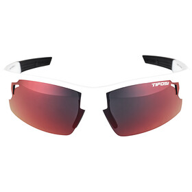 Tifosi Escalate FH Glasses Herre matte white - clarion red/ac red/clear